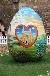 Easter Egg in Zagreb, Croatia