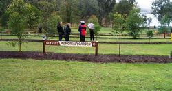 Ulysses Memorial Gardens during Memorial Ride - Sep 2006