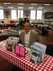 Children's book author Kevin McMurtrie
