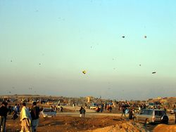Kite Fighting Battle Ground