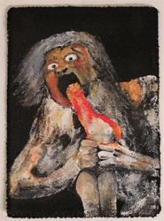 """Saturn Devouring Venus"""