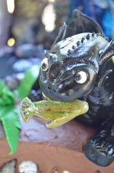 Toothless fondant figurine