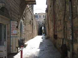 Calle de la Jerusalem antigua