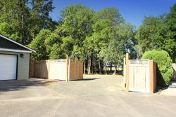 New gate for RV parking