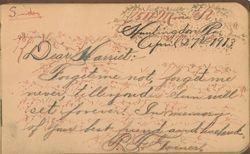 P. F. Garner Autograph