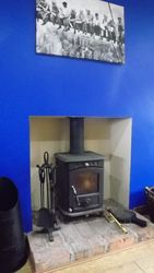 M/F stove Installed