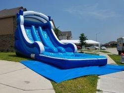18' Double Lane Water Slide $280.00+ tax