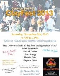 Clayfest 2013 Flyer