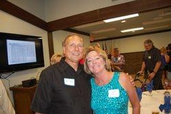 Mayor Ron Tate and Jacque Farrell Tate
