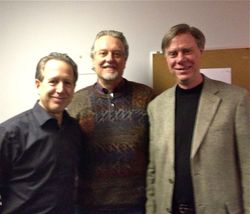 With Composers, Peter Golub & Don Davis