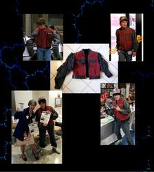 "Recreaton of jacket from ""Back to the Future II"""