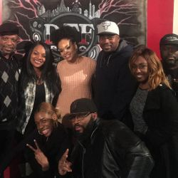 Knowledge Borne and Demetria McKinney visit DTF Radio - For The Love Of R & B