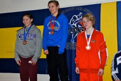 Rhiannon Digweed - 3rd place at Juvenile Provincials 2014