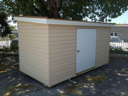 6x12 low profile / single gable