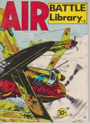 Air Battle Library War Comic (Aust)