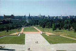 097 Melbourne City Skyline 1956