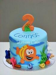 Bubble Guppies cake 1