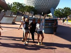 Epcot is ours for the taking!