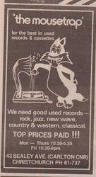 The Mousetrap (Record Shop)