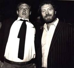 Harrison Ford and Pat Roach