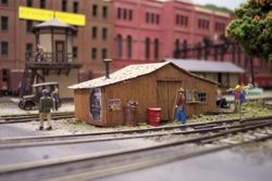 Maintenance Shed at Allegheny