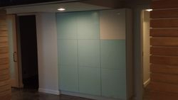 Cabinetry wall