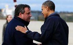 Gov Christie and President Obama