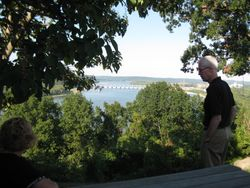 Overlooking the Ohio River