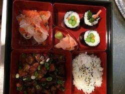 Chicken Teryaki & Sushi