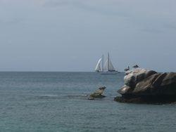 meezeil vakantie Caribisch gebied