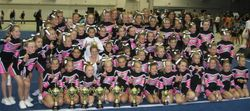 Cheer Champions first competition