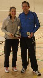 Handicap Tournament Mixed Doubles Winners