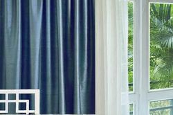 Luxury Custom Dupioni Silk and lined  Curtains, Drapes -108 inch