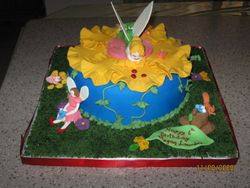 Cake 08A1 - Tinkerbell Cake