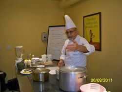 Cooking Class 3. Basic curry Foundation.