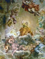 Pietro da Cortona, Triumph of Urban VIII Barberini
