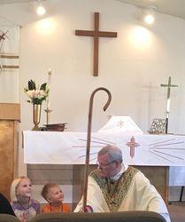 Bishop O'Neill's visit