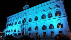 Auberge de Castille in BLUE !!