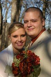 My wonderful son, Eli & his lovely wife, Ashley