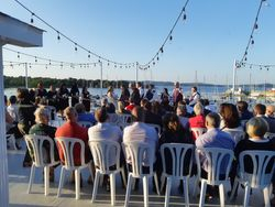 Ceremony on Deck at SJ Marina
