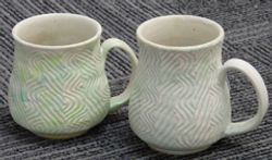 Wirecut cups