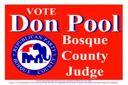 Don Pool For Judge