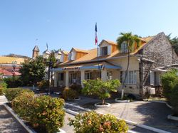 The town in Les Saintes