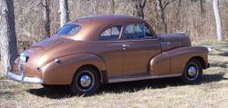 30. 47. Chevy Stylemaster coupe