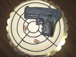 Gun Cake    Glock Cake