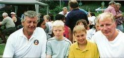 Dave Prowse MBE, Joe Robinson & Frankie Rimer Jnr