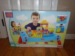 MegaBloks Play N Go Table with Cars and Blocks- BNIB - $35