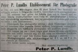 Peter P Lundh 1892
