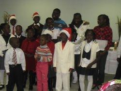 Sunday School Choirs on the Christmas of 2009