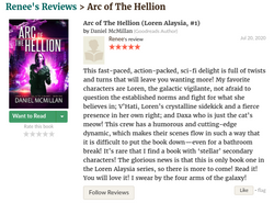 Renee Review of Arc of The Hellion